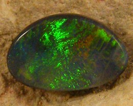 BLACK  OPAL MULTI FIRE .60  CTS JO 1261