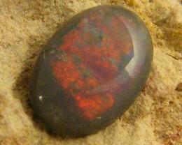 SMALL BLACK  OPAL .25  CTS JO 1264