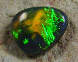 N1 TOP GEM BLACK  OPAL FREEFORM .90 CTS JO 1308