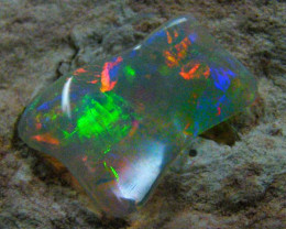 UNDULATING BRIGHT GEM SHELL  OPAL  CTS JO 1312