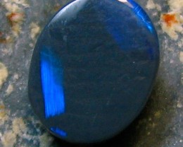 BLACK OPAL LIGHTNING RIDGE 0.70 CTS PERFECT OVAL SHAPE A4182
