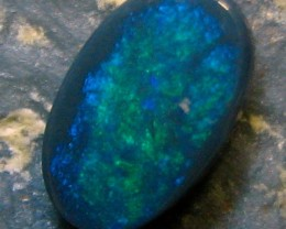 BLACK OPAL LIGHTNING RIDGE 0.75 CTS SOLID CUT STONE A4225