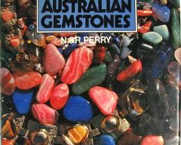 HARD COVER AUSTRALIAN GEMSTONES N PERRY  1967