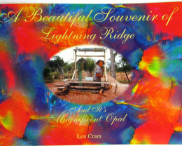 LEN CRAM A BEAUTIFUL SOUVENIER LIGHTNING RIDGE