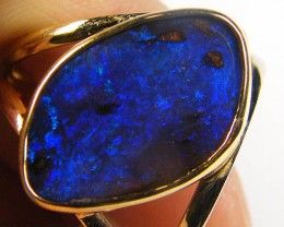 BOULDER   OPAL 18K  GOLD SCVARF HOLDER CJ 1047