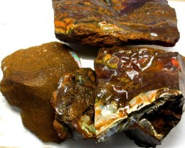 LARGE KOROIT ROUGH- CHOCOLATE IRONSTONE 2640.00CTS [BY2005 ]