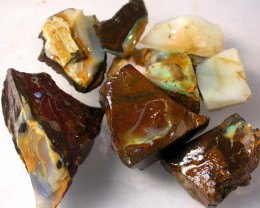 KOROIT ROUGH PARCEL - CHOCOLATE IRONSTONE 290.00CTS[BY2008 ]