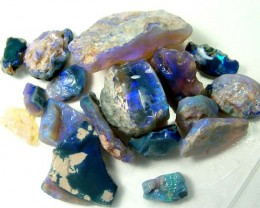 BLACK OPAL ROUGH PARCEL L. RIDGE 225  CTS  DT-852