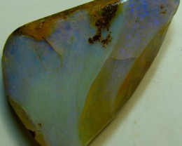 BARGAIN FACED BOULDER OPAL RUB READY TO POLISH 24.15 CTS