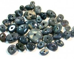BLACK OPAL BEADS (PARCEL)  100 CTS  AS 5959