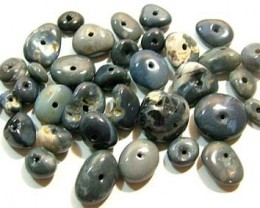 100 CTS BLACK OPAL BEADS (PARCEL)    AS 5960
