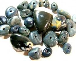 100 CTS BLACK OPAL BEADS (PARCEL)    AS 5966