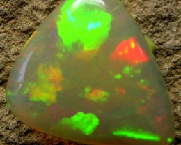 SATURATED BLOCKY PATTERN BRIGHT WELO  OPAL 5.39 CTS [VS3690]
