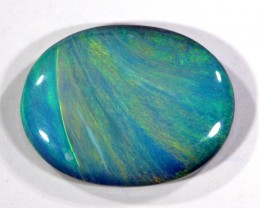 QUALITY  SOLID OPAL FROM LIGHTNING RIDGE  1.25 CTS [S662 ]