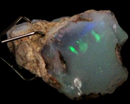 Rough Ethiopian Opal 13.95 Carats  code QOM 388