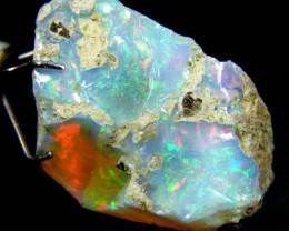 Rough Ethiopian Opal 8.15 Carats  code QOM 425