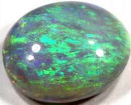 2.95 CTS BRIGHT BLACK OPAL FROM LR
