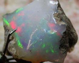 FFF Rough Ethiopian Opal 8.70 Carats  code QOM 480