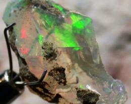 FFF Rough Ethiopian Opal 8.10 Carats  code QOM 486