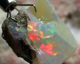 FFF Rough Ethiopian Opal 11.70 Carats  code QOM 494