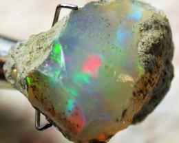 FFF Rough Ethiopian Opal 8.90 Carats  code QOM 509