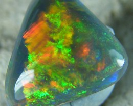 LOVELY LIGHTNING RIDGE BLACK OPAL1.70 CTS   (CG6)