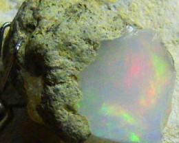 FFF Rough Ethiopian Opal 10.15 Carats  code QOM562