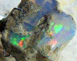 FFF Rough Ethiopian Opal 10.00 Carats  code QOM574