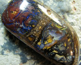 BARGIN BOULDER OPAL HIGH POLISH STONE 84.15 CT A5195