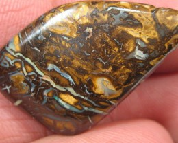 Drilled Boulder Matrix Opal.