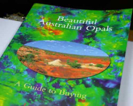 BEAUTIFUL AUSTRALIAN OPALS 16 PAGES BY LEN CRAM