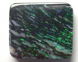 BOULDER OPAL GREEN FLASH 20.10CT L2611
