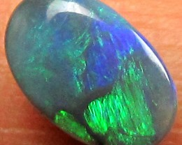 BLACK  OPAL GREEN BLOCK PATTERN 1.00 CARATS    JO 1590