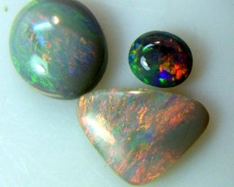 SOLID OPAL L.RIDGE (3 PCS) 3.30 CTS AS-A890  (TBO-S)