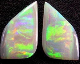 GEM  OPAL PAIR FROM ALLAN RISE FIELD 11.15 CTS [MS2579]