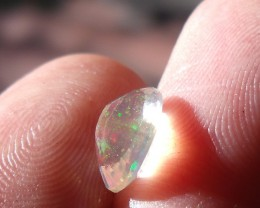 FreeForm Faceted Fire Mexican Opal 1.21 Cts