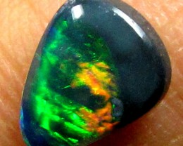 BLACK OPAL GREEN FLASH .55CT K259