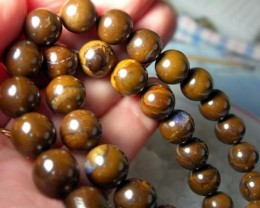 QUALITY 16 INCH STRAND BOULDER BEADS  330 CTS