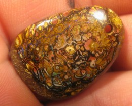 MINER DIRECT; SALE DRILLED MATRIX OPAL,32.45.CTS.CO.