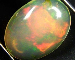 SUNSET ORANGE FLASH ETHIOPIAN OPAL 1.60 CTS  FOB 88