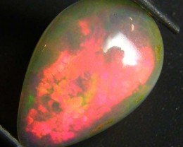 WOW RED FIRE! ETHIOPIAN OPAL 1.30 CTS  FOB 92