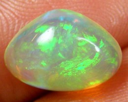 GREEN FIRE ETHIOPIAN OPAL 2 CTS  FOB 123