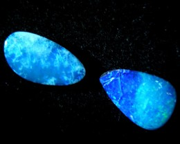 OLD STOCK SOLID DOUBLETS OPAL 3.75CTS  0870