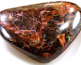 45.85 CTS RED SPARKLY BOULDER OPAL CUT STONE  NC-562 GC