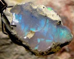 F Rough Ethiopian Opal 12.65 Carats  code QOM 633