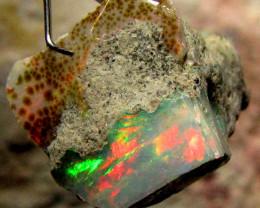 F Rough Ethiopian Opal 14 Carats  code QOM 634