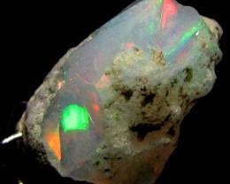 F Rough Ethiopian Opal 7.40 Carats  code QOM 637