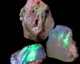 F Rough Ethiopian Opal Parcel 16.20 Carats  code QOM 648