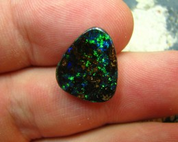 BEAUTIFUL PINFIRE ELECTRIC FIRE IN THIS BOULDER OPAL