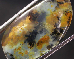 PERU OPAL WITH DENDRITIC INCLUSIONS 12.00 CTS [VS5163]